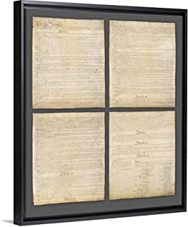 us constitution wall art