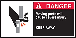 moving parts sign