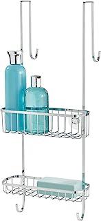InterDesign Gia Estantería para ducha, estante para colgar