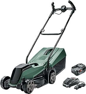 Bosch Cortacésped a Batería CityMower 18 ( 18 Volt, 1x Batería 4,0 Ah, Ancho de corte: 32 cm, Céspedes de hasta 300 metros...