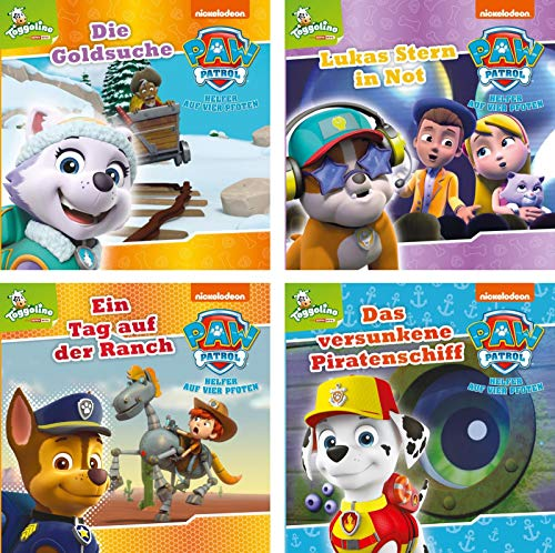 4er-Set Maxi-Mini 11: PAW Patrol 41-44 (Nelson Maxi-Mini)