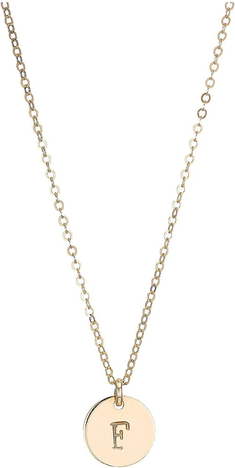ABLE Tucson Mall Mini Tag F One Over item handling ☆ Size Gold Necklace
