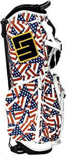 Loudmouth Flagadelic 8.5 Inch Double Strap Golf Bag