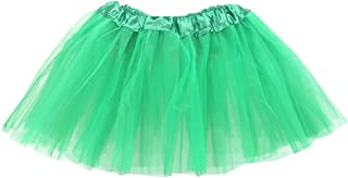 belababy Girl Tutu Skirt, 3 Layered Fluffy Tutus, Ballet Dance Dress Up for Girls, 2-8T