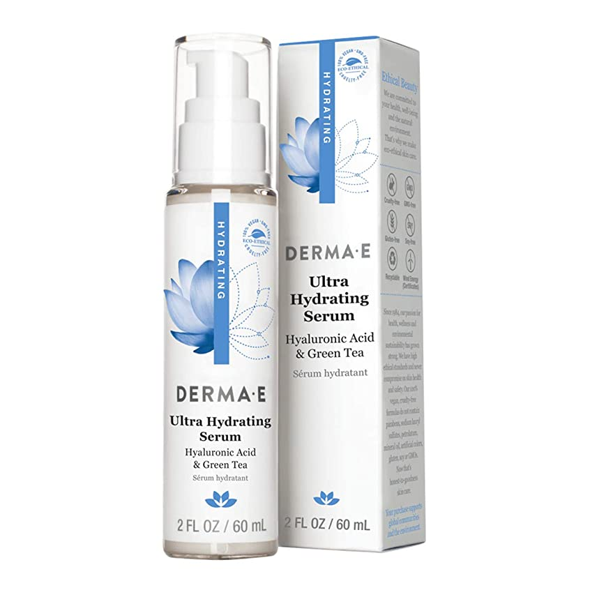 研究狂信者グレーDerma E Hydrating Serum 60ml/2oz並行輸入品