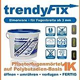 1K Pflasterfugenmörtel trendyFIX für unkrautfreie Fugen - 25 kg