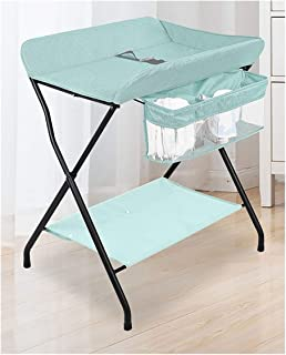 Baby Changing Stations Baby Products Diaper Table Baby Care Table Touching Portable Foldable Bed Bath Changing Diaper Wet Newborn Baby Mobile Nursery Organizer (Color : A)