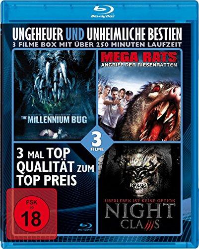 Ungeheuer & Unheimliche Bestien (3 Filme) [Blu-ray] [Alemania]