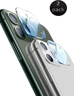 """[2 Pack] Tempered-Glass Camera Lens Protector for Apple iPhone 11 Pro Max 6.5"""" /Apple iPhone 11 Pro 5.8"""" Ultra Thin HD Anti-Fingerprint Clear Film"""