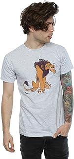 Disney hombre Classic Scar Camiseta