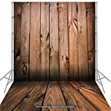 Andoer 1,5 * 2 m großen Photography Background Hintergrund klassischen Mode Holz Holzboden für Studio-Profi-Fotograf