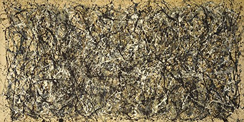 The Museum Outlet - Jackson Pollock - One Number 31, 1950 gespannte Leinwandgalerie verpackt 16 x 20 cm