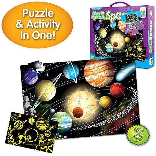 Glow in the Dark Space Puzzle