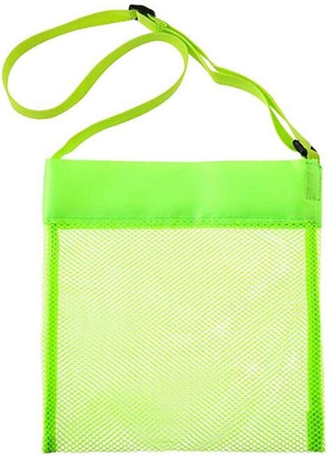 Gelb Facilla/® Kids Sand Toys Aufbewahrungsnetz Tasche f/ür Summer Beach Travel Verwenden Sie Kinder Seashell Mesh Taschen von TheBigThumb