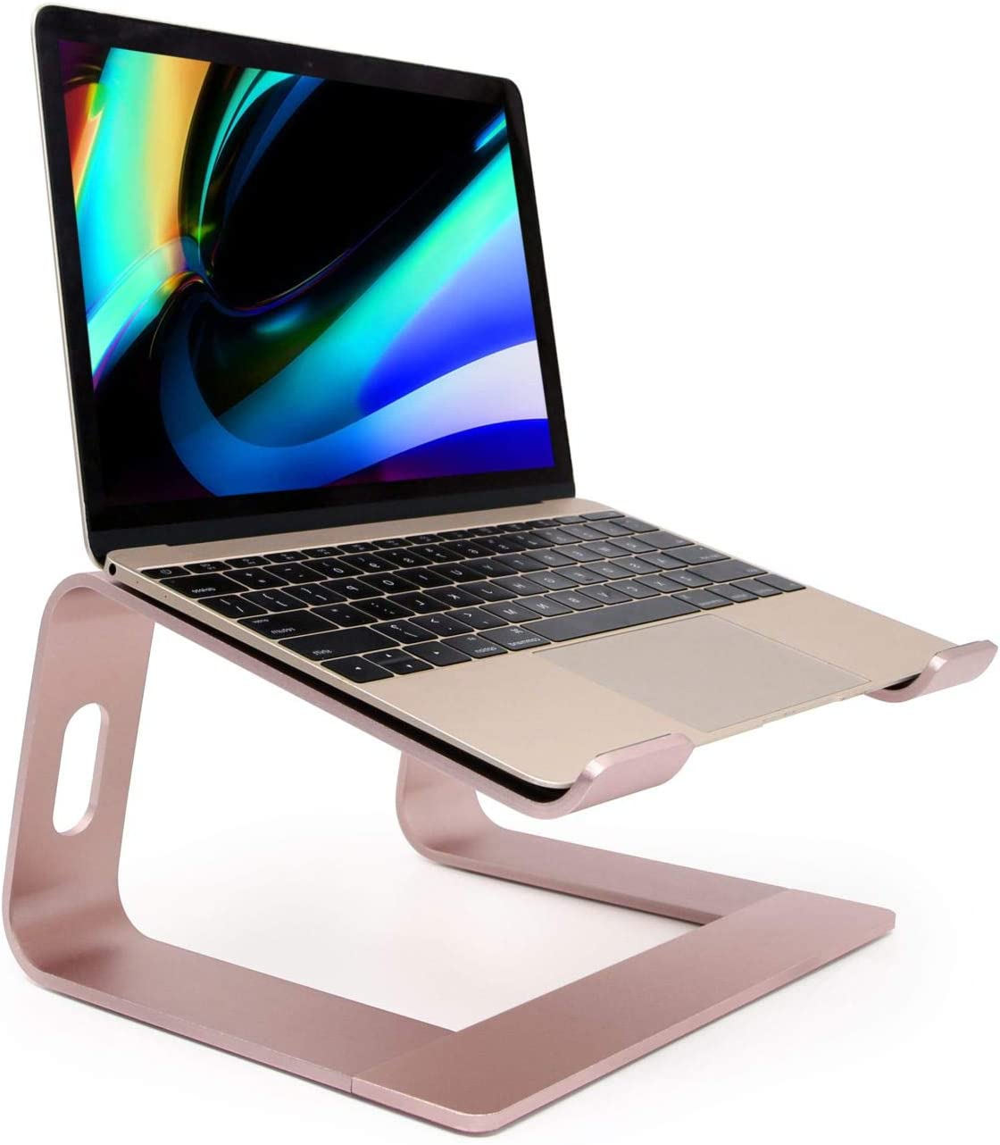Laptop Stand, Ergonomic Aluminum Laptop Mount Computer Stand, Detachable Laptop Riser,Notebook Holder Stand Compatible with MacBook Pro/Air HP Lenovo Samsung Huawei ,All 10-17.3