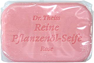 DR.THEISS Rose reine Pflanzenölseife 100 g Seife