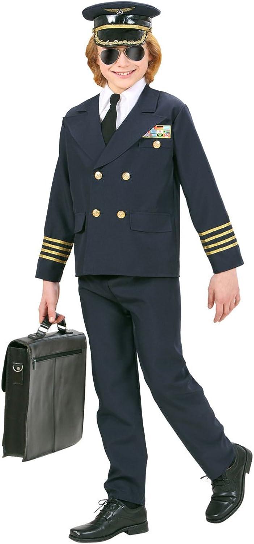 NET TOYS Kinder Pilotenkostüm Flieger Kostüm Pilot 158, 11 - 13 Jahre Piloten Kinderkostüm Flugkapitän Verkleidung B0762BQRPH Praktisch und wirtschaftlich    | Schön In Der Farbe
