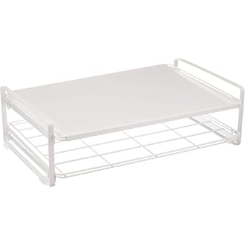 Belca キッチン棚 トースターラック 幅41.3×奥行26.5×高さ12.3 ホワイト TR-W