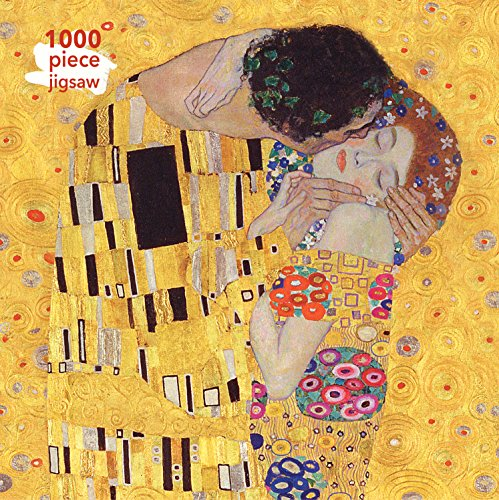 Klimt: The Kiss Jigsaw: 1000 Piece Jigsaw Puzzle