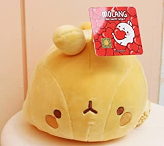 Molang Laying Rabbit Plush Doll Toy - Yellow Color