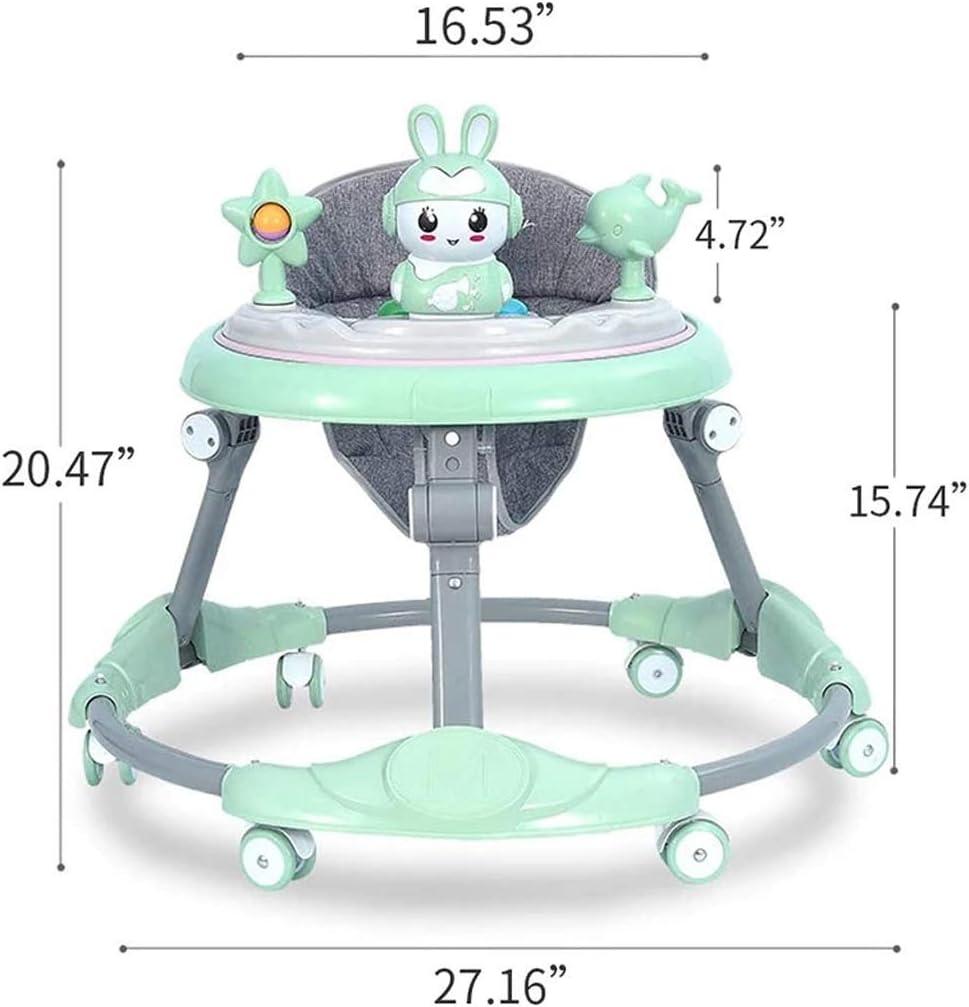 NHK-MX Andador para beb/é Multifunci/ón de Actividades o tacat/á Ruedas Silenciosas Plegable Carga m/áxima 25 kg para ni/ños y ni/ñas de 6 a 18 Meses