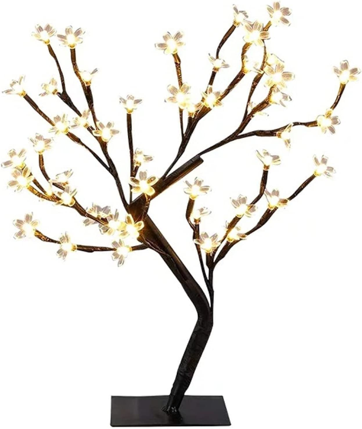Tramile Iron Frame Christmas led Arlington Mall bauhinia Our shop OFFers the best service Opti Light Tree Fiber