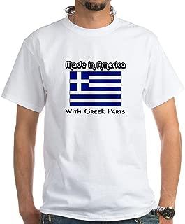 CafePress Greek Parts White T-Shirt Cotton T-Shirt
