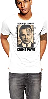 Warface Apparel John Dillinger American Gangster Crime Pays T-Shirt Inc
