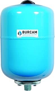 BURCAM 600541B 2.1 Gal Inline Pressure tank, Blue