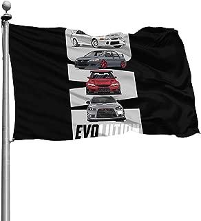 Best mitsubishi evo flag Reviews