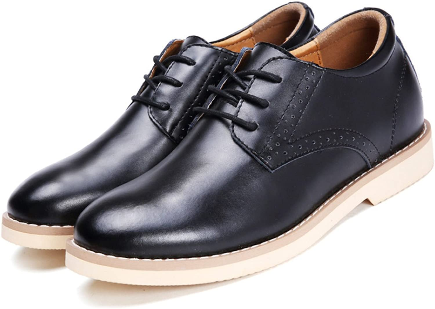 Autumn Men Leather Increased Within Casual shoes Business Dress shoes Men's shoes
