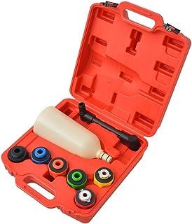 vidaXL 15 Piece Engine Oil Filler Set Oil Funnel Oil Filler Cap Car Tools Fast Oil Filling Delivered in a Blow-moulded Case Sturdy Durable Nylon