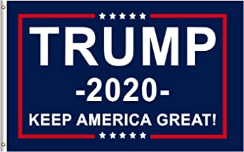 Donald Trump for President 2020 Keep America Great Flag 3x5 Feet with Grommets