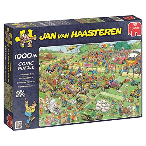 Jumbo 19021 Puzzel Jvh: Grasmaaierrace 1000 Stukjes, 144+ mnd