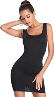 8947f7fb527 6 · Joyshaper Long Full Slips for Under Dresses Women Seamless Camisole  Slimming Shaping Control