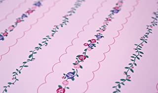 St. James / York Brothers & Sisters IV BT2790 Hello Kitty Stripe Wallpaper, Pink