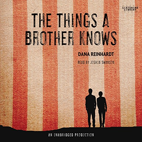 The Things a Brother Knows audiobook cover art