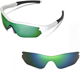 Walleva Replacement Lenses for Oakley Radar Edge Sunglasses - Multiple Options Available