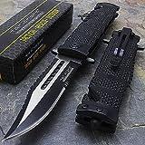 8.5' TAC FORCE SPRING ASSISTED TACTICAL FOLDING KNIFE Blade Assist Open Pocket