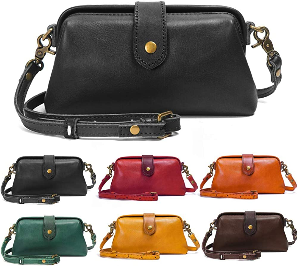 Washington Mall Genuine Leather Crossbody Bags Shoulder Handmade Women for Outlet SALE