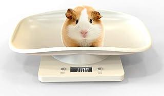 MHBY Báscula de Peso, báscula Digital LCD para Mascotas báscula electrónica Mini Escala de Peso de gramo de precisión báscula de bebé báscula de Cocina de Alta precisión