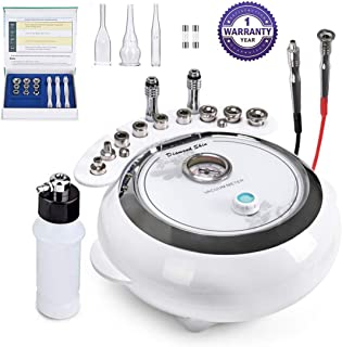 [Upgrade Version] 3 in 1 Diamond Microdermabrasion, Yofuly Dermabrasion Machine Facial Care Salon Equipment for Personal Home Use (Suction Power: 65-68cmHg)