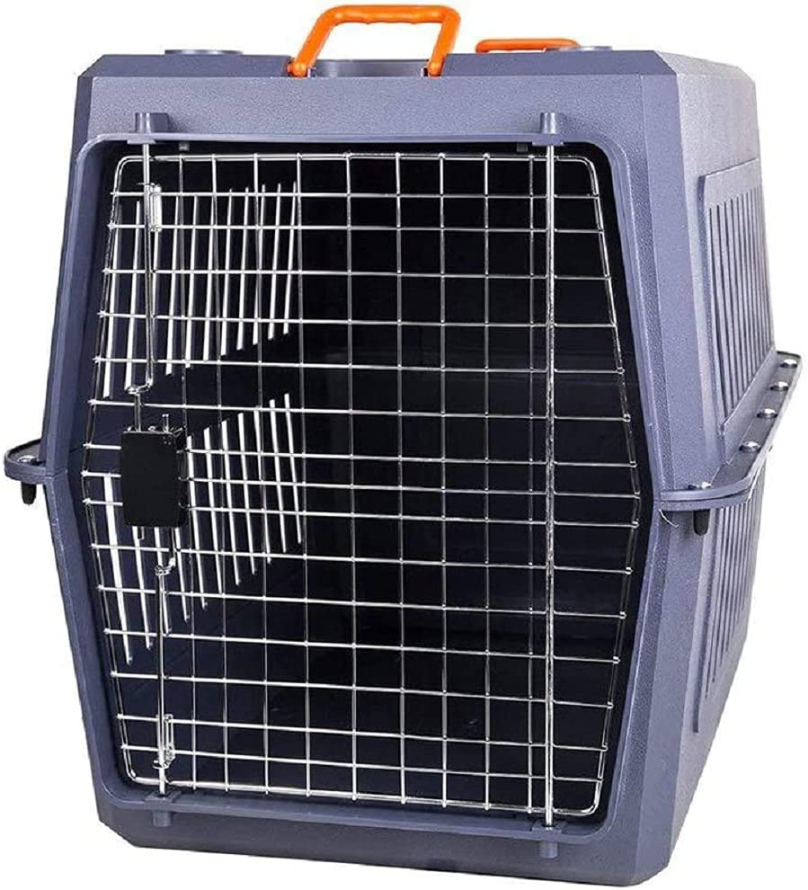YOUMD Super Capacity Sturdy Heavy Duty Travel Max 80% OFF Cage with Overseas parallel import regular item Dog Chro