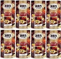【まとめ買い】トイレの消臭力 消臭芳香剤 トイレ用 トイレ 大人の至福 リッチアロマの香り 400ml×8個