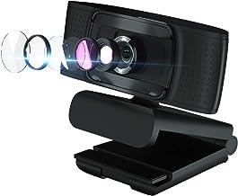 Full HD Webcam 1080P - Pro Web Camera with Digital Microphone - CF920 USB Computer Camera for PC Laptop Desktop Mac Video ...