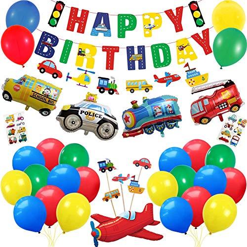 Suministro de fiesta de cumpleaños,globos cumpleaños,Globos de látex,Globos de helio,sDom Luna cielo arco iris (coche)