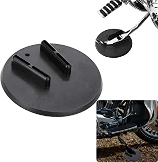 Motorcycle Kickstand Pad Kick Stand Coaster Puck Parking Stand for Harley Davidson Touring