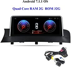 "dasaita 10.25"" Android 7.1 Autoradio Bluetooth Coche Manos Libres para BMW X3 F25 X4 F26 2013-2017, Radio Coche Pantalla Tacti GPS Soporte iDrive Control del Volante WiFi Cámaras de Marcha Atrás"