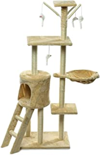 Cat Climbing Frame Cat Scratching Post Tree Scratcher Pole Furniture Gym House Toy Cat Jumping Platform 5035140 cm