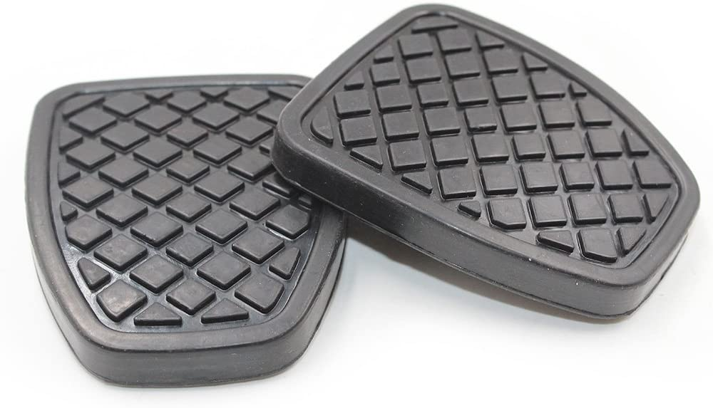 Hotwin Max 90% OFF 2 PCS Clutch Brake Pedal Cover 36015GA111 Rubber Fort Worth Mall Co Pad